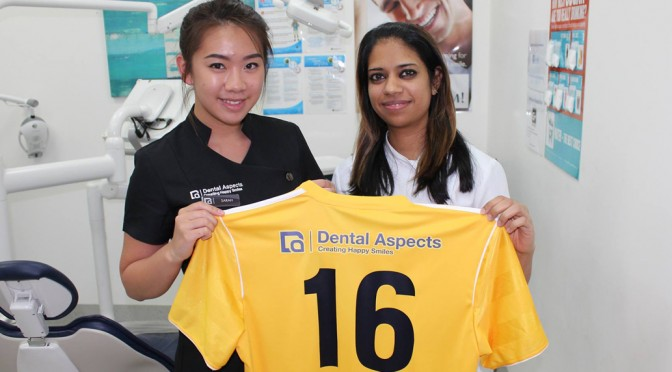 Dental Aspects increases support for ‪‎LMFC‬ in 2016.